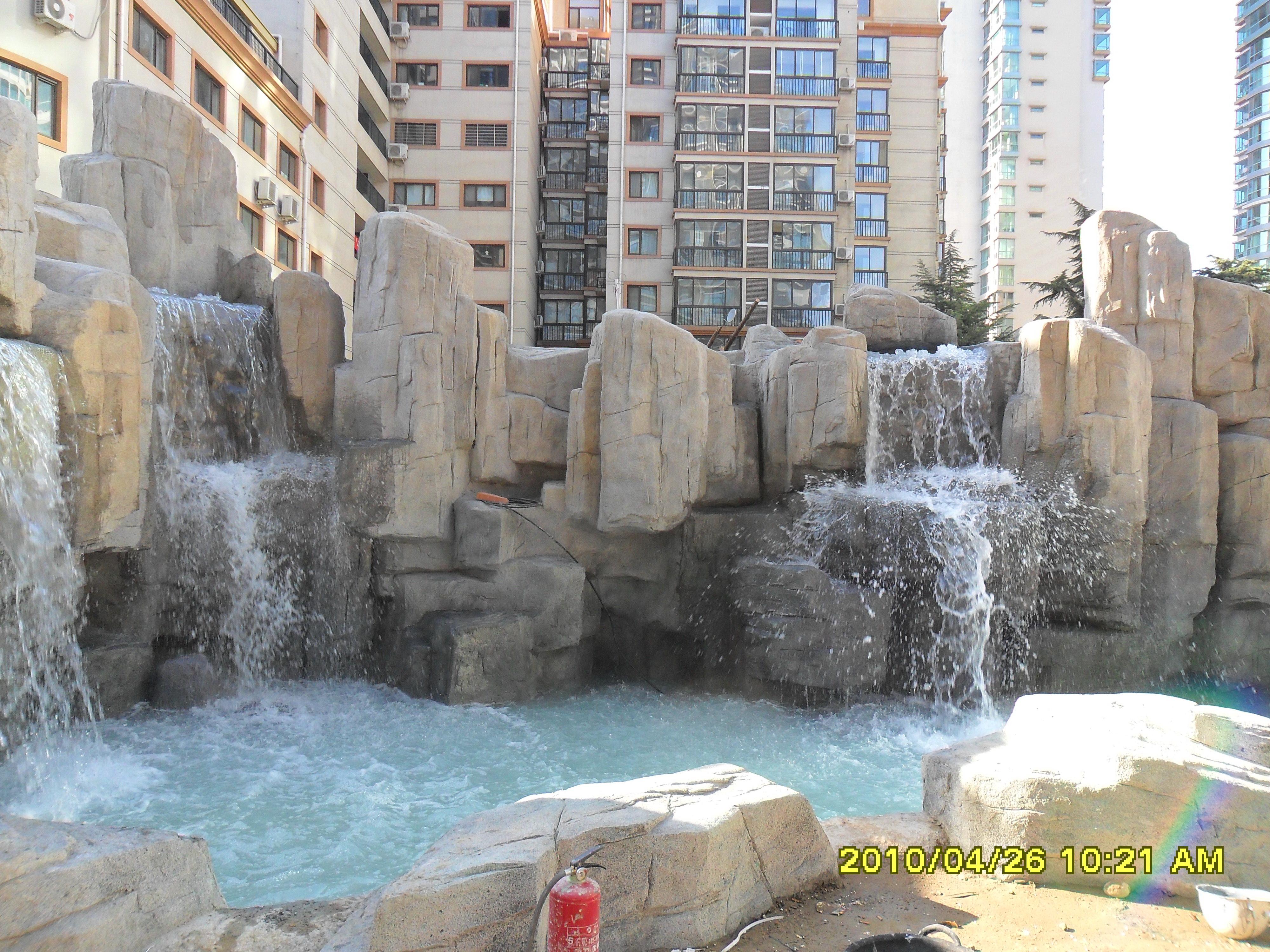 假山- 音乐喷泉设计_音乐喷泉施工_大型假山设计-河北